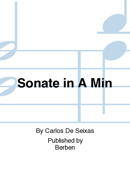 Sonate in A Min