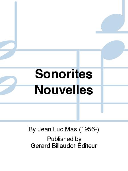 Sonorites Nouvelles