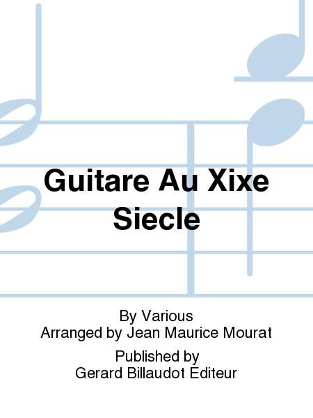 Guitare Au Xixe Siecle