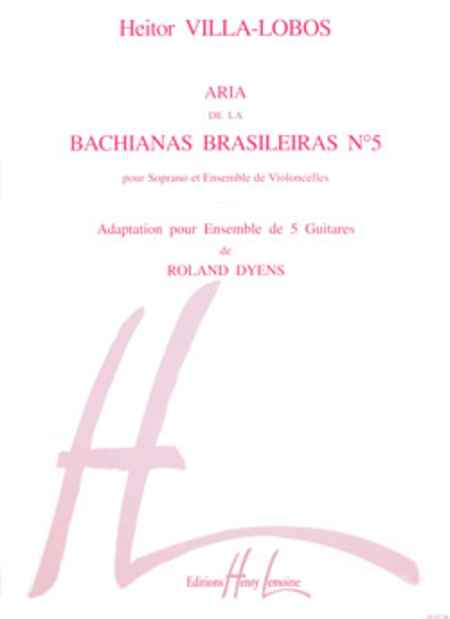Aria de La Bachianas Brasileiras No. 5