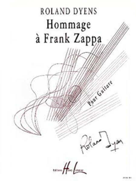 Hommage A Franck Zappa