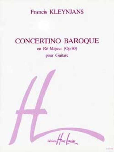 Concertino Baroque Hommage A Vivaldi, Op.80