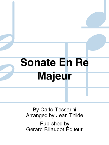 Sonate En Re Majeur