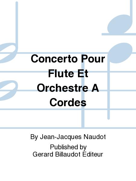 Concerto Pour Flute Et Orchestre A Cordes