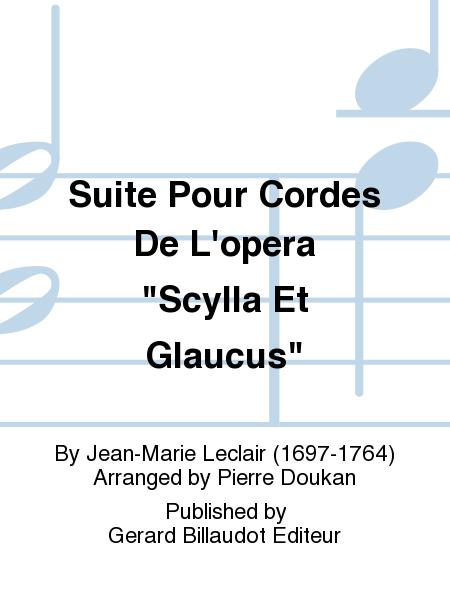 Suite Pour Cordes De L'opera