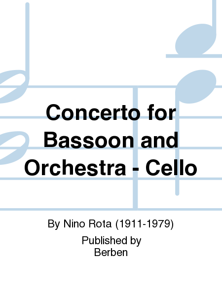 Concerto for Bassoon and Orchestra - Cello