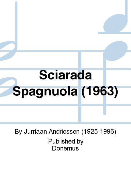Sciarada Spagnuola (1963)