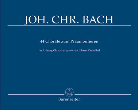 44 Chorale zum Praambulieren