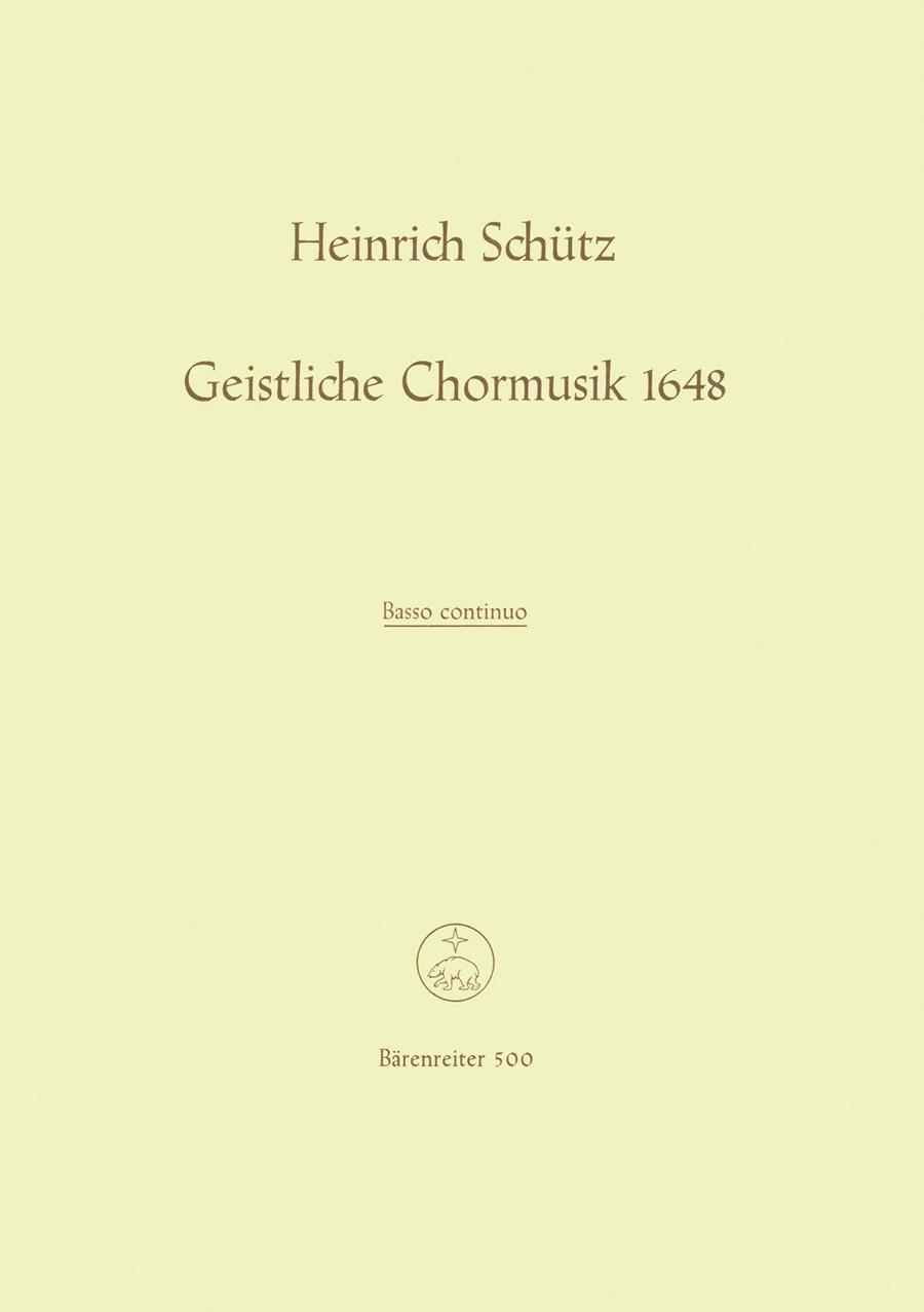 Geistliche Chormusik 1648 SWV 369-397