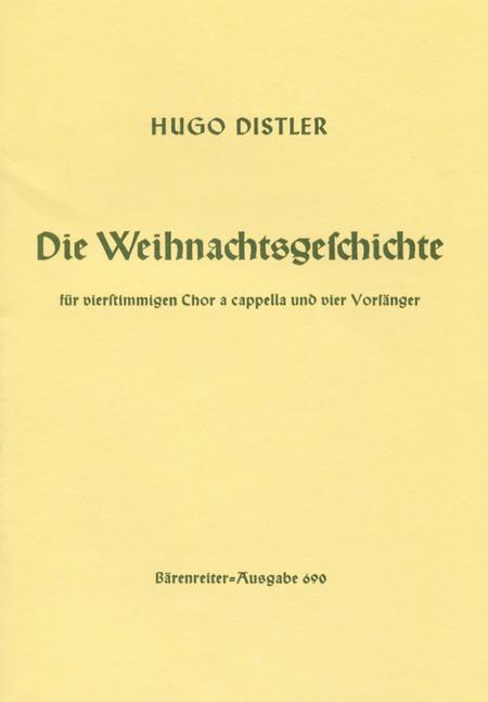 Die Weihnachtsgeschichte (Nativity Story), Op. 10