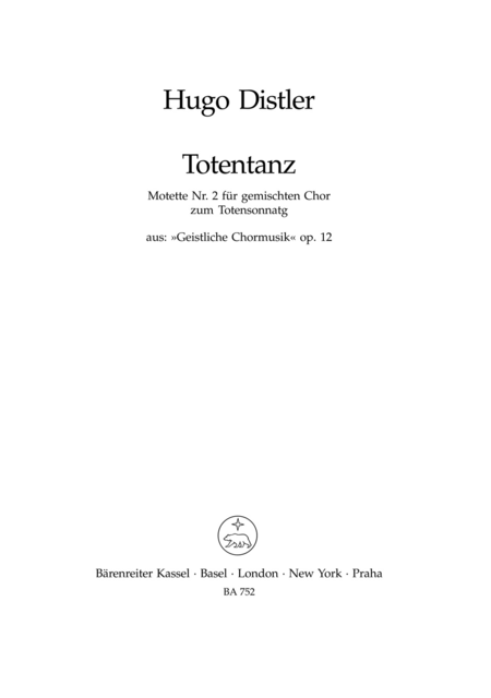 Totentanz, Op. 12/2