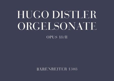 Organ Sonata (Trio) op. 18/2