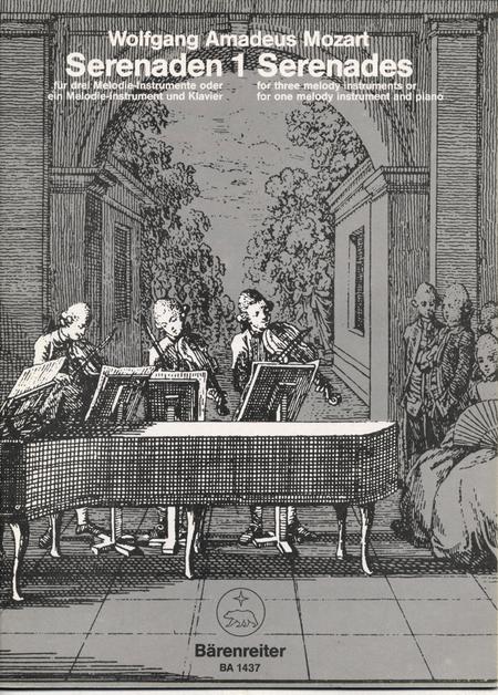 Serenaden fur drei Melodie-Instrumente oder ein Melodie-Instrument und Klavier, Heft 1 C major KV 439b/1