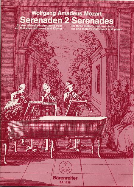 Serenaden fur drei Melodie-Instrumente oder ein Melodie-Instrument und Klavier, Heft 2 C major KV 439b/2
