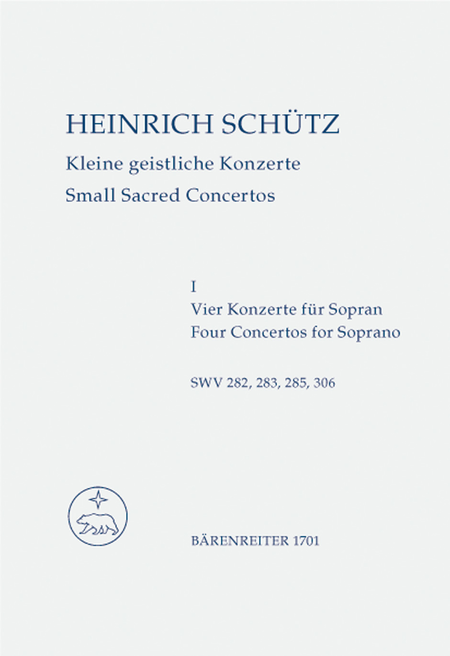 Small Sacred Concertos, Volume 1