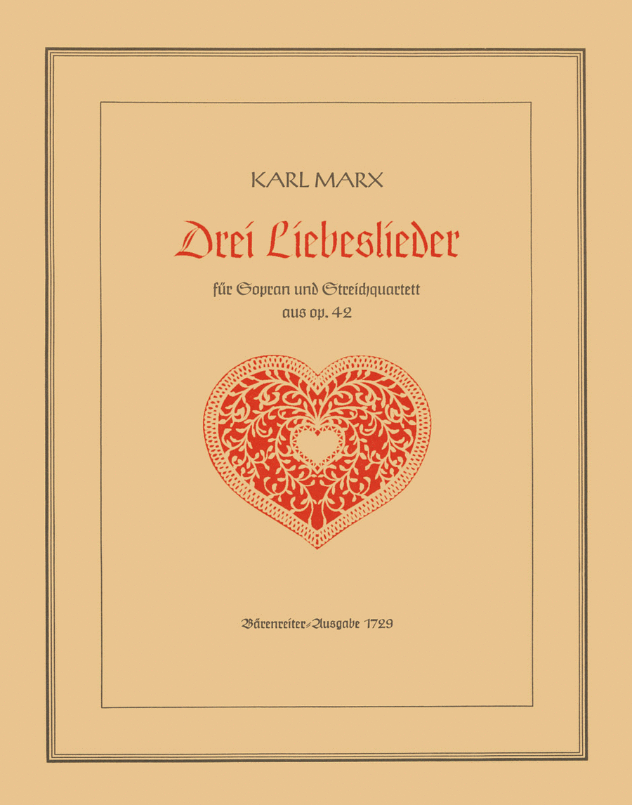 Drei Liebeslieder, Op. 42a