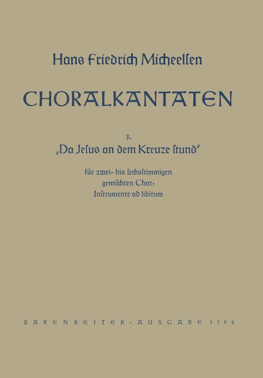 Da Jesus an dem Kreuze stund