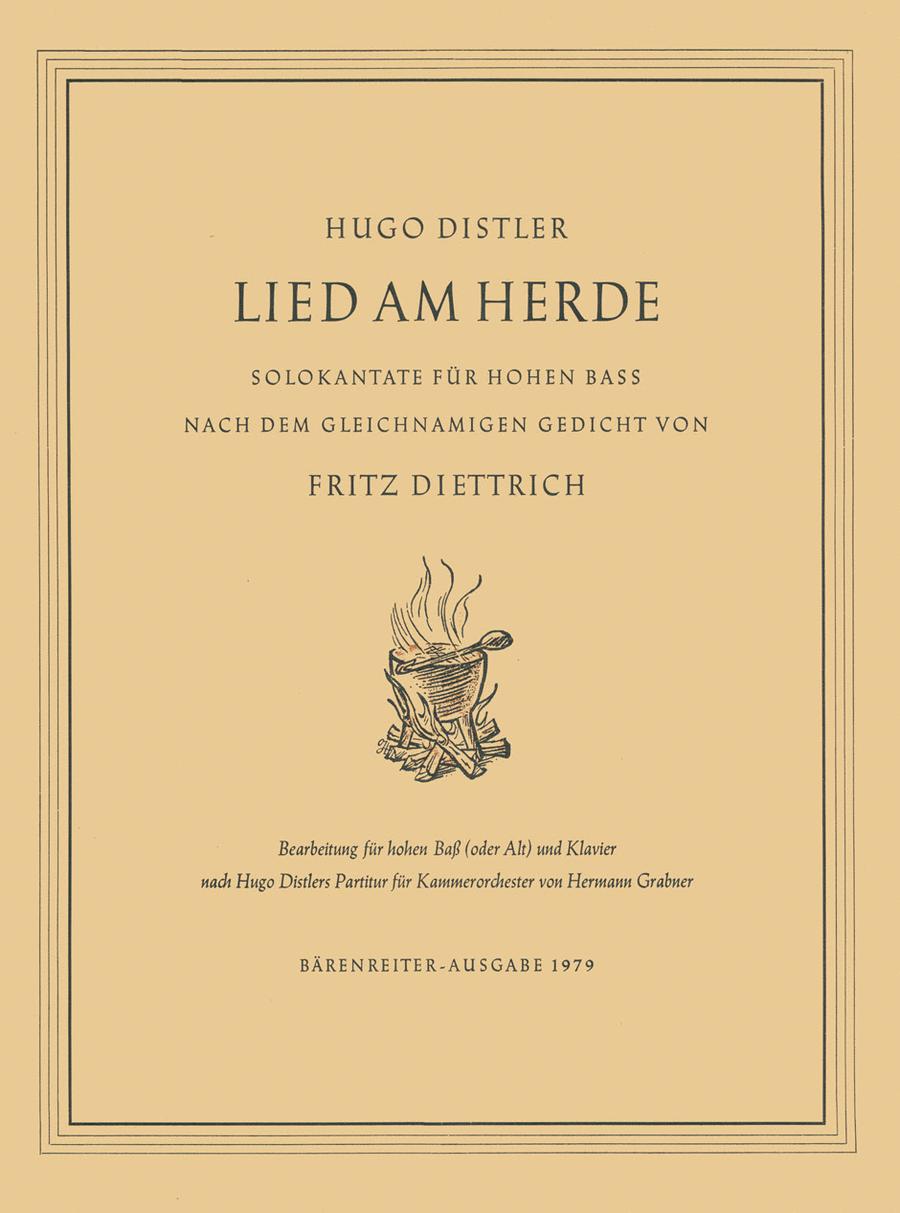 Lied am Herde, Op. 21/1