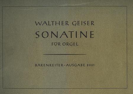 Sonatina for Organ op. 26