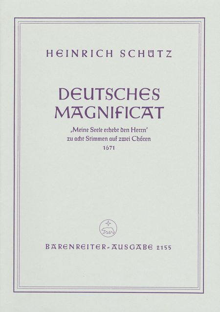 Deutsches Magnificat 1671
