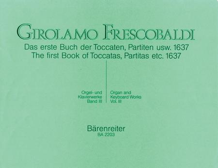 Das erste Buch der Toccaten, Partiten usw. 1637