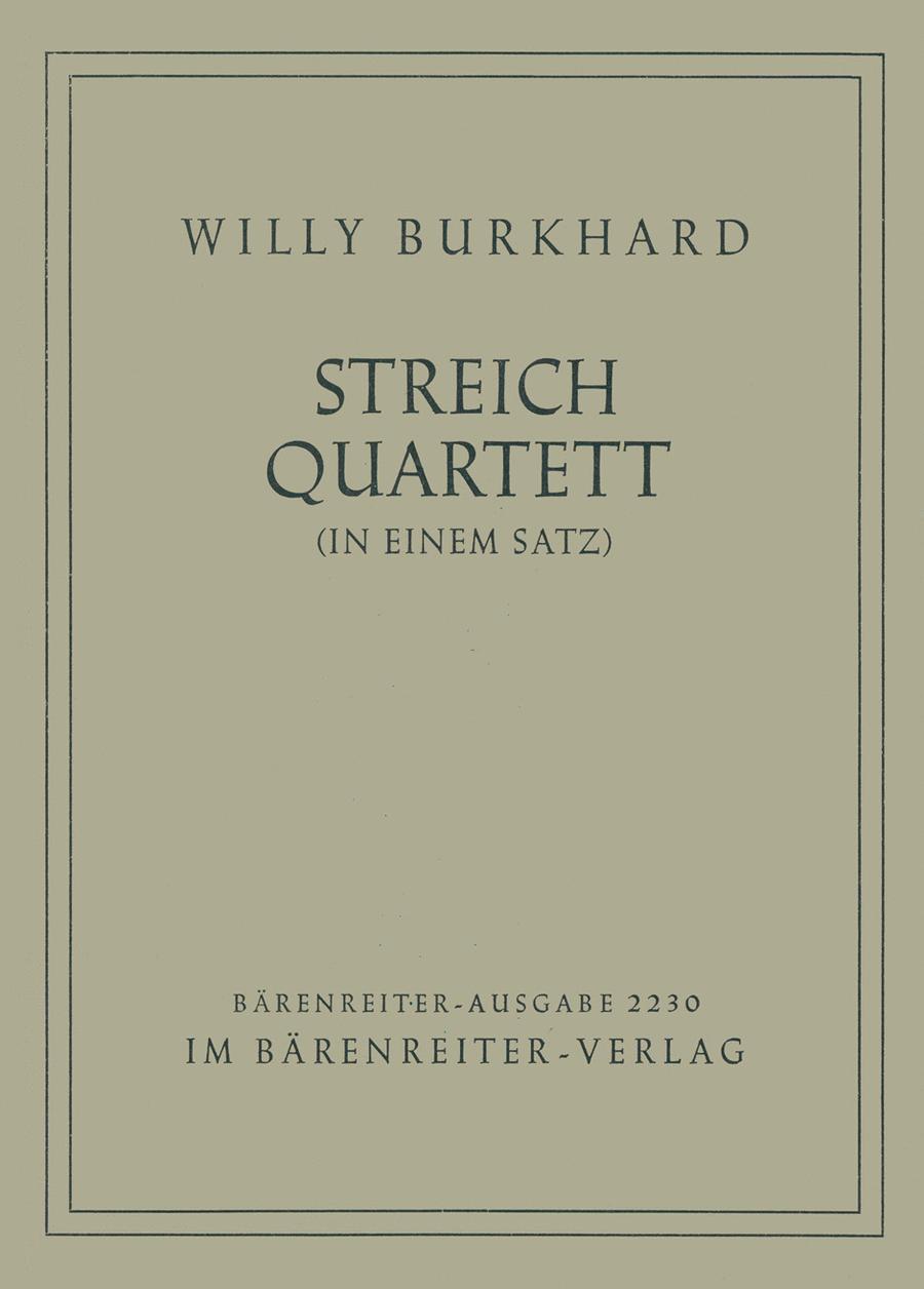 Streichquartett in einem Satz, No. 2, Op. 68
