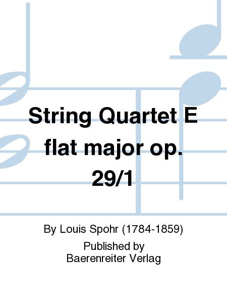 String Quartet E flat major op. 29/1