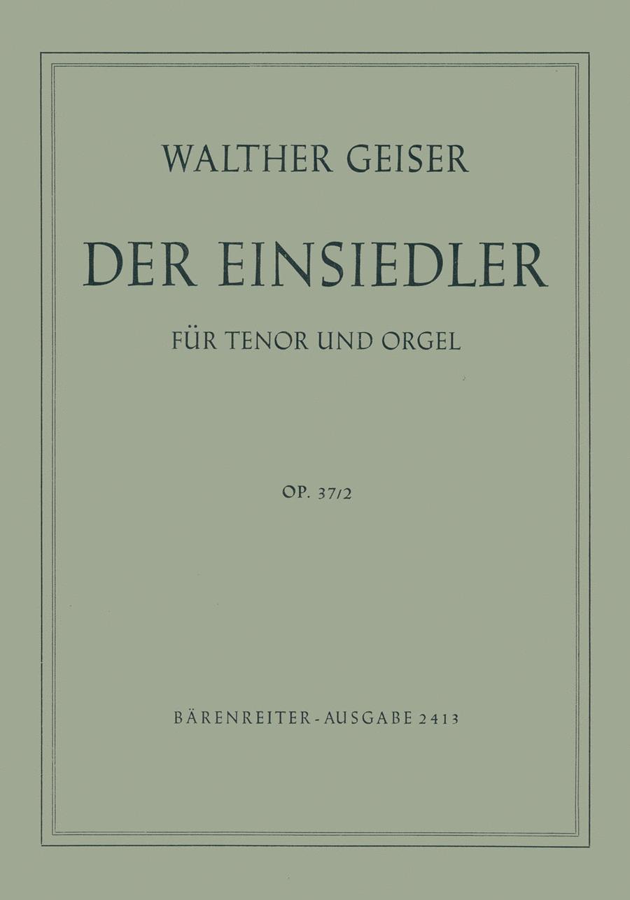 Der Einsiedler, Op. 37/2
