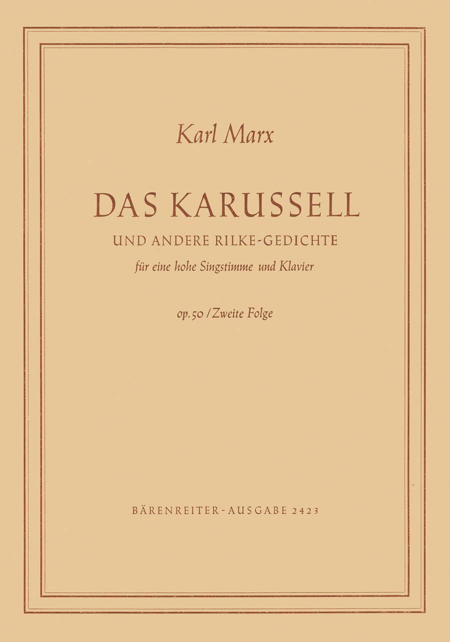 Das Karussell und andere Rilke-Gedichte, Op. 50/2