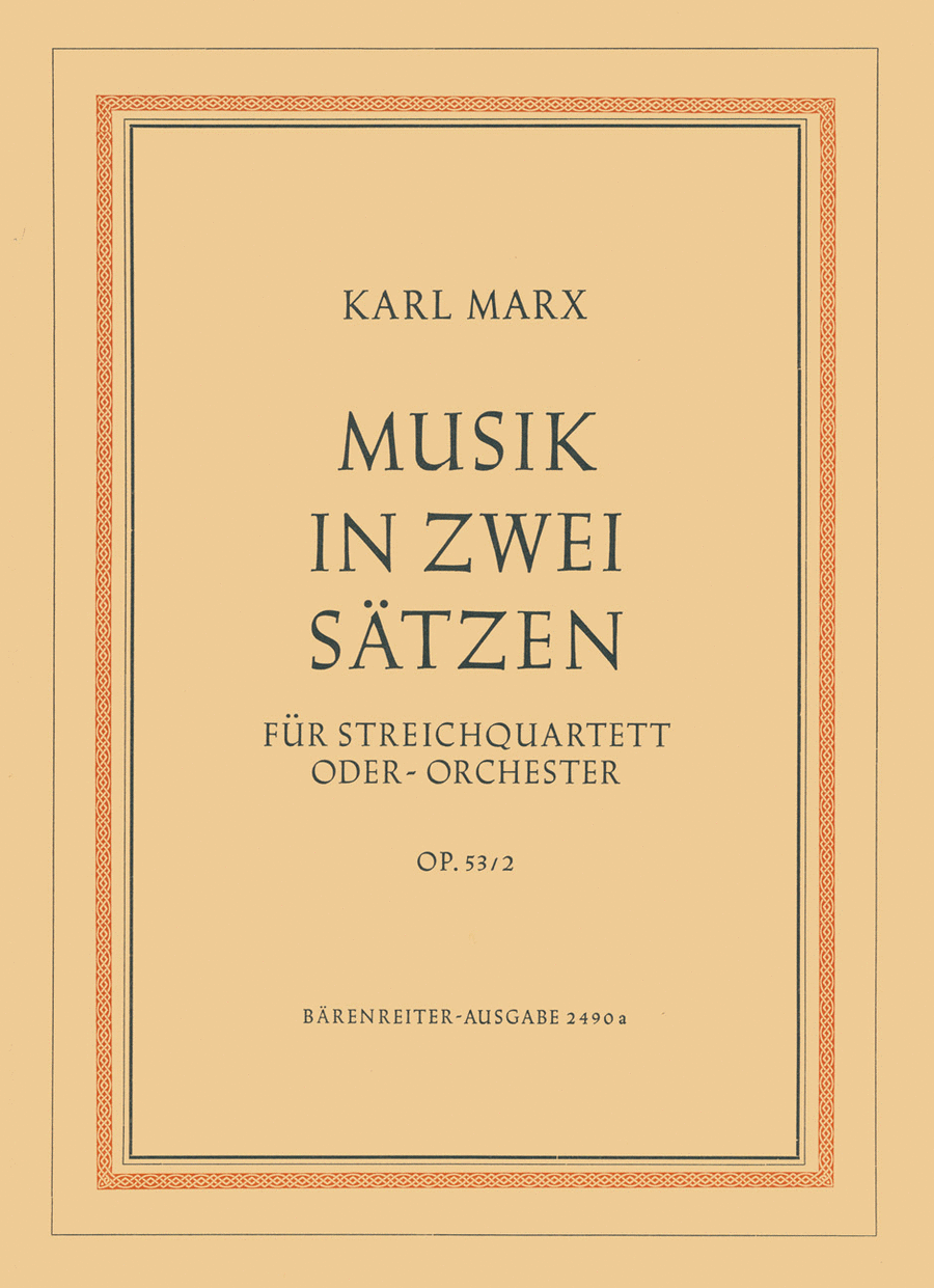 Musik in zwei Satzen, Op. 53/2