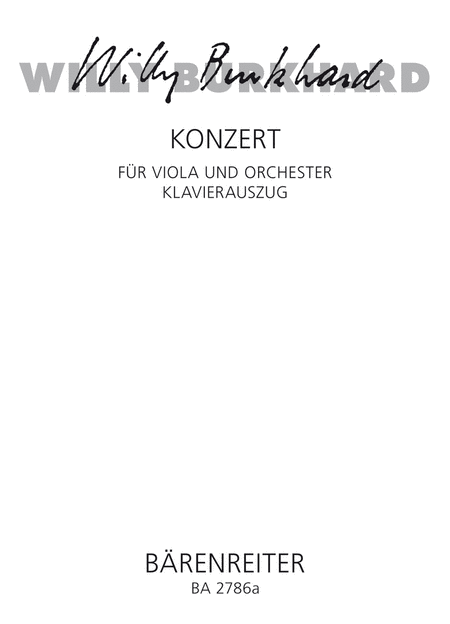 Concerto for Viola and Orchestra, Op. 93