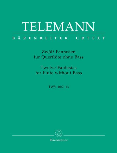 12 Fantasias For Solo Flute