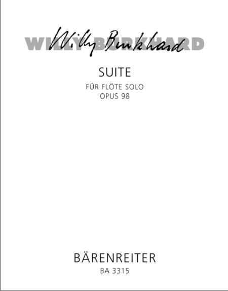 Suite for Solo Flute op. 98