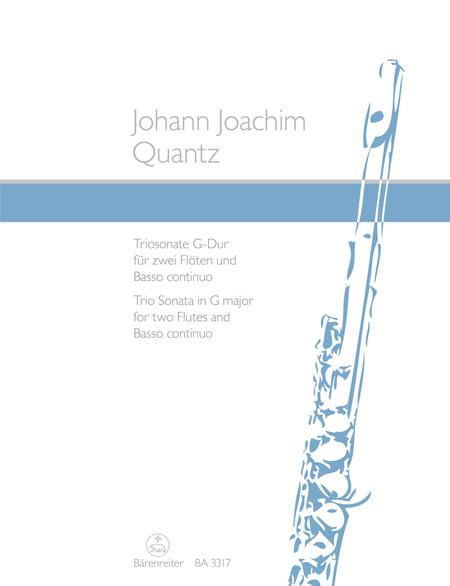 Trio Sonata for two Flutes and Basso continuo G major