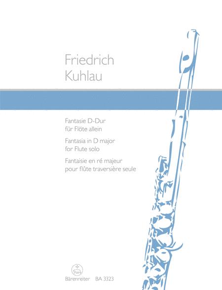 Fantaisie for Solo Flute D major