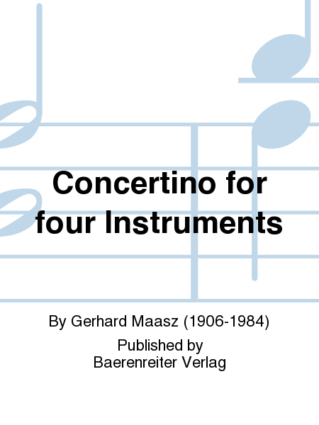 Concertino for four Instruments