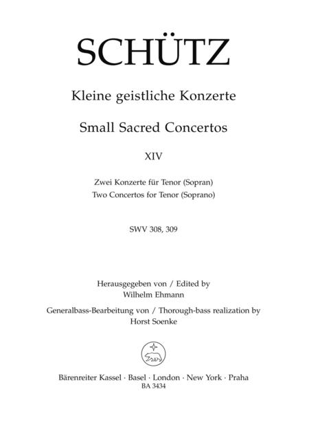 Kleine geistliche Konzerte, Heft 14