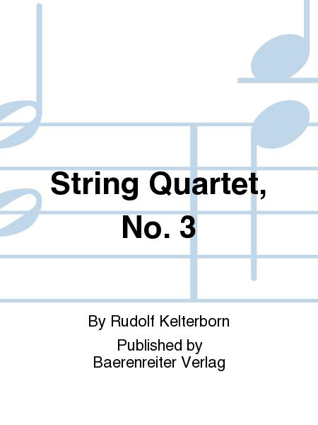 String Quartet, No. 3