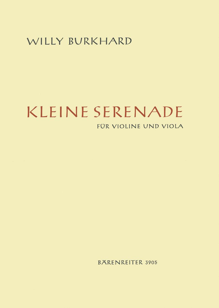 Kleine Serenade for Violin and Viola op. 15