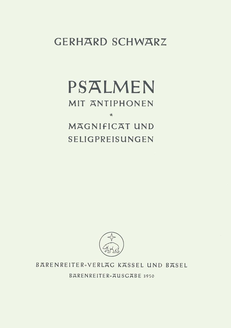 Psalmen und Antiphonen - Magnificat - Seligpreisungen