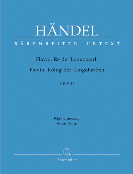 Flavio, Re de Langobardi - Flavio, Konig der Langobarden HWV 16