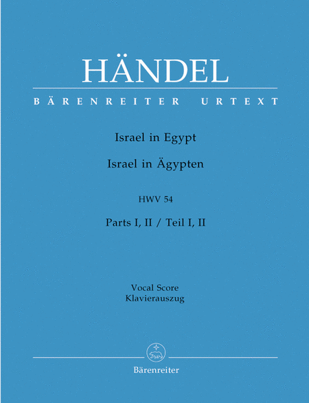 Israel in Egypt - Israel in agypten HWV 54