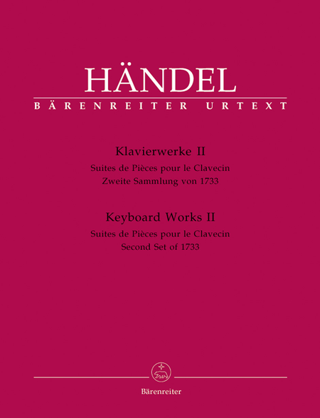 Keyboard Works, Volume 2 HWV 434-442