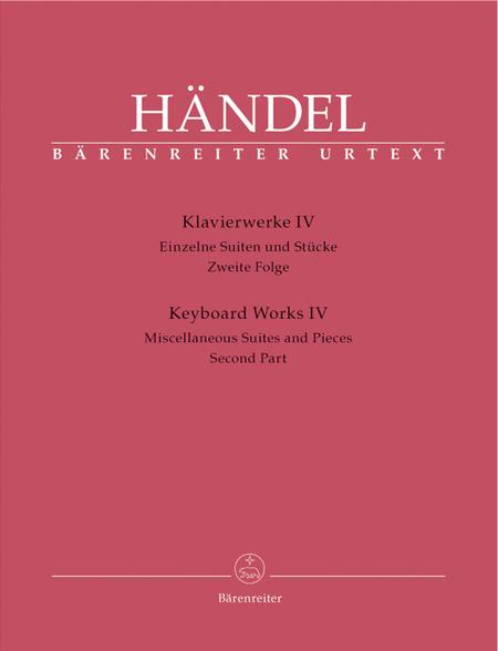 Keyboard Works, Volume 4