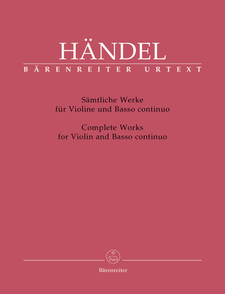 Complete Sonatas For Violin And Basso Continuo