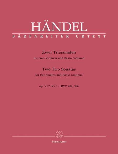 2 Triosonaten aus, Op.5
