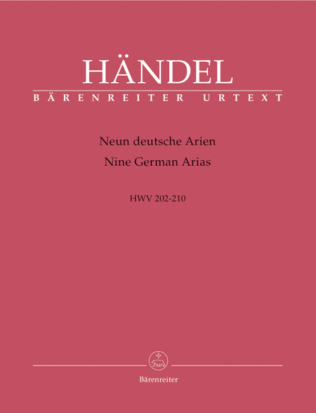 9 German Arias, HWV 202-210