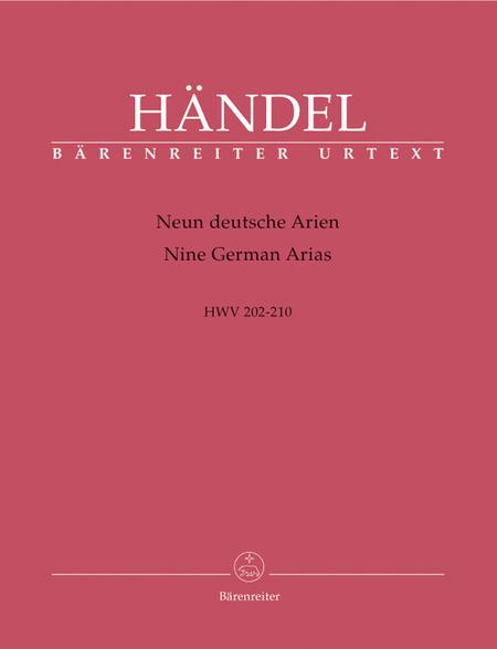 9 German Arias, HWV 202-210