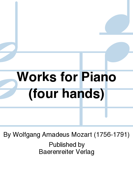 Works for Piano (four hands)