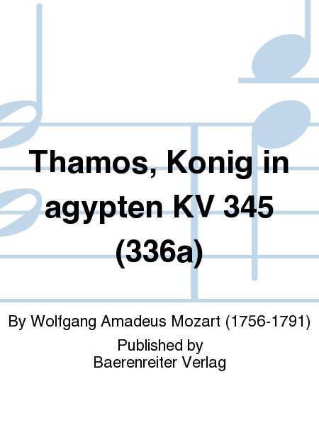 Thamos, Konig in agypten KV 345 (336a)